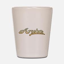 Retro Aruba Shot Glass