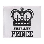 Australian Prince Throw Blanket