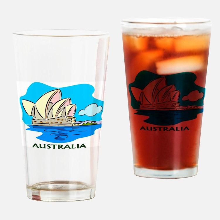 Australia Sydney Opera House Pint Glass