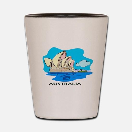 Australia Sydney Opera House Shot Glass
