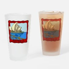 Australia Pint Glass