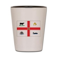 Melbourne Flag Shot Glass
