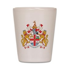 Melbourne Coat Of Arms Shot Glass