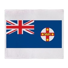 New South Wales Flag Throw Blanket