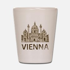 Vintage Vienna Shot Glass