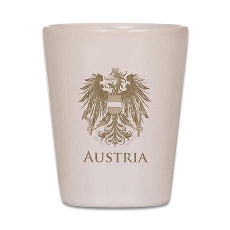 Vintage Austria Shot Glass