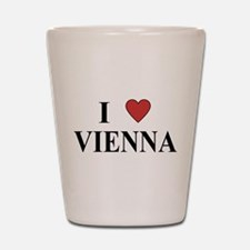 I Love Vienna Shot Glass