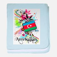 Flower Azerbaijan baby blanket