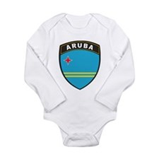 Azerbaijan Long Sleeve Infant Bodysuit