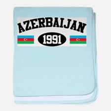 Azerbaijan 1991 baby blanket