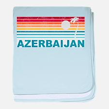 Palm Tree Azerbaijan baby blanket