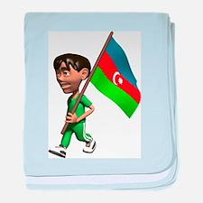 3D Azerbaijan baby blanket