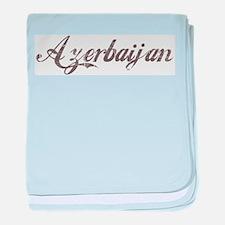 Vintage Azerbaijan baby blanket