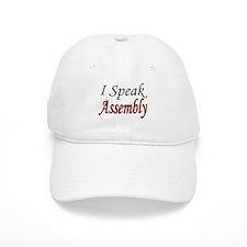 """""""I Speak Assembly"""" Baseball Cap"""