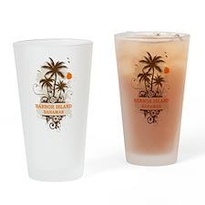 Harbor Island Bahamas Pint Glass