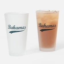 Vintage Bahamas Pint Glass