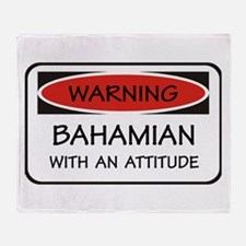 Attitude Bahamian Throw Blanket