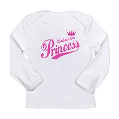 Bahamian Princess Long Sleeve Infant T-Shirt