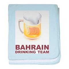 Bahrain Drinking Team baby blanket