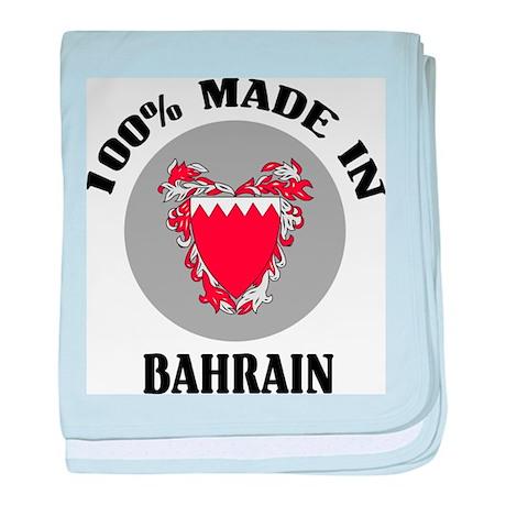 Made In Bahrain baby blanket