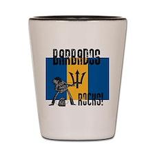 Barbados Rocks Shot Glass