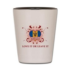 Love It Barbados Shot Glass