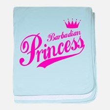 Barbadian Princess baby blanket