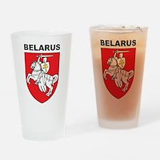 Belarus Pint Glass