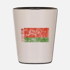 Vintage Belarus Flag Shot Glass