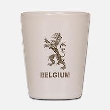 Vintage Belgium Shot Glass
