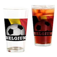 World Cup Belgium Pint Glass