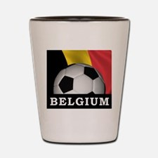 World Cup Belgium Shot Glass