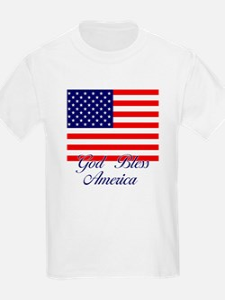 God Bless America Kids T-Shirt