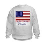 God Bless America Kids Sweatshirt