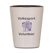 Volkssport Volunteer Shot Glass