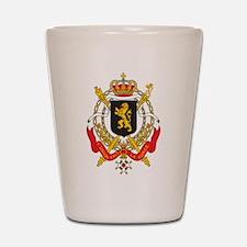 Belgium Coat Of Arms Shot Glass