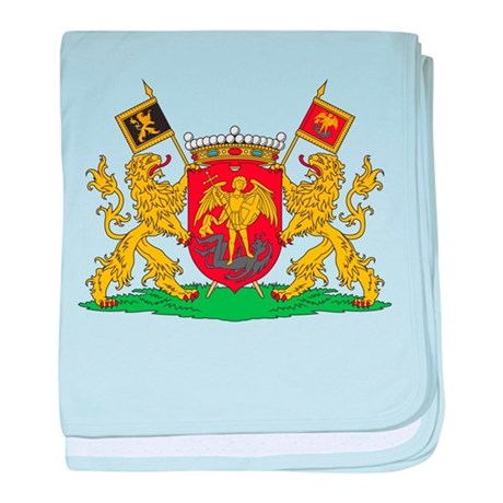 Brussels Coat Of Arms baby blanket