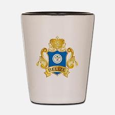 Gold Belize Shot Glass