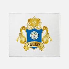 Gold Belize Throw Blanket