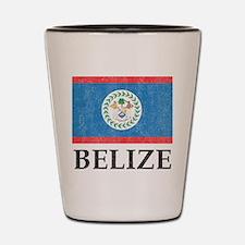 Vintage Belize Shot Glass