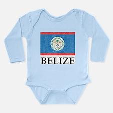 Vintage Belize Long Sleeve Infant Bodysuit