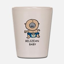 Belizean Baby Shot Glass