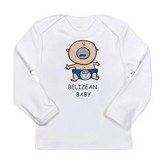 Belizean Baby Long Sleeve Infant T-Shirt