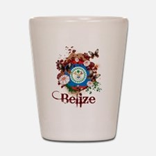 Butterfly Belize Shot Glass
