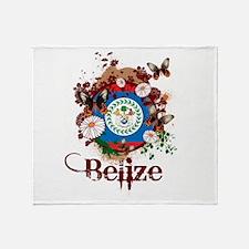Butterfly Belize Throw Blanket