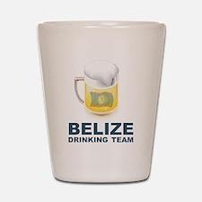 Belize Drinking Team Shot Glass