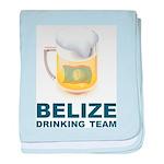 Belize Drinking Team baby blanket