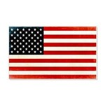 American Flag 22x14 Wall Peel