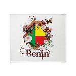 Butterfly Benin Throw Blanket