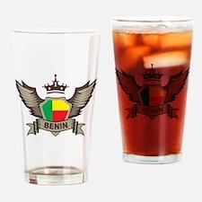 Benin Emblem Pint Glass